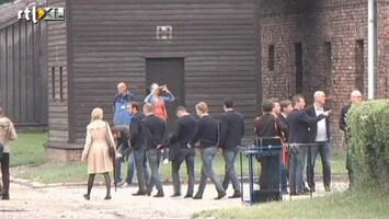 RTL Nieuws Oranje bezoekt Auschwitz