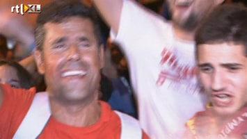 RTL Nieuws Euforie in Spanje, Italië druipt af