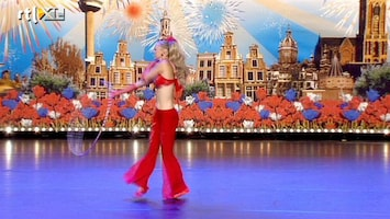Holland's Got Talent Hoo Dance met Karin de Wit