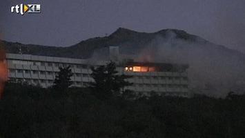 RTL Nieuws Aanslag op hotel in Kabul