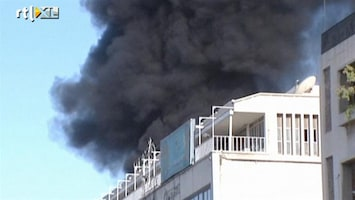 RTL Nieuws Bomexplosie bij hotel in Damascus