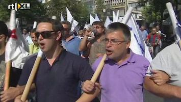 RTL Nieuws Grote staking in Griekenland