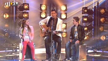 The Voice Kids Nick Schilder met Irene en Joep