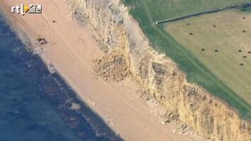 RTL Nieuws Britse vrouw bedolven onder rotsen