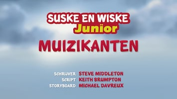 Suske En Wiske Junior - Muizikanten