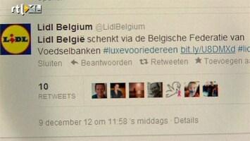 RTL Nieuws Twitteractie Lidl loopt uit de hand