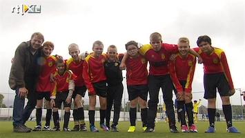 RTL Nieuws Voetbalcompetitie voor kinderen met autisme