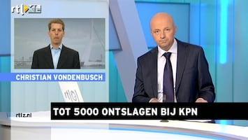 RTL Z Nieuws Koersverlies KPN is terecht'