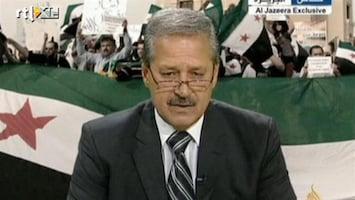 RTL Nieuws Syrische ambassadeur loopt over