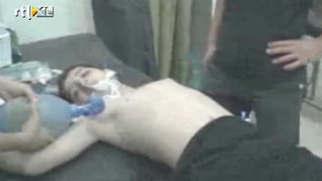 RTL Nieuws VS komt niet in actie na gifgasaanval in Syrie