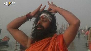 RTL Nieuws 110 miljoen hindoes baden in de Ganges