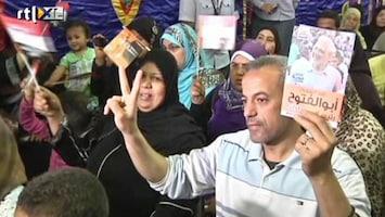 RTL Nieuws Westen kijkt gespannen naar verkiezingen Egypte
