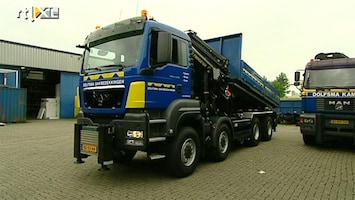 Rtl Transportwereld - Man 8x8 Voor Dolfsma Dakbedekkingen