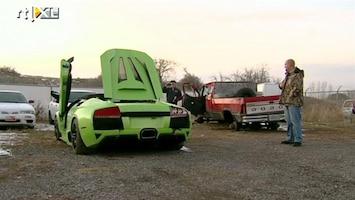 RTL Nieuws Man wint Lamborghini en rijdt hem in puin