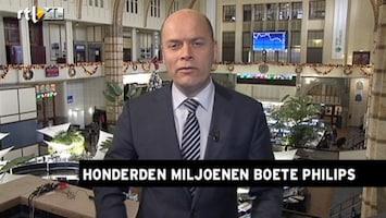 RTL Nieuws Beurs gematigd negatief over hoge boete Philips