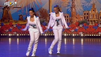 Holland's Got Talent Linzy en Jennifer