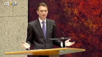 RTL Nieuws VVD en CDA botsen tijdens debat regeringsverklaring