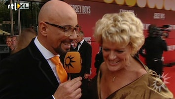 RTL Boulevard BN'ers lopen uit voor première Jersey Boys.