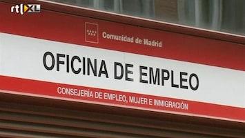 RTL Z Nieuws Werkloosheid Spanje loopt op tot boven de 20%