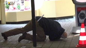 RTL Nieuws Juwelier in zijn been geschoten bij overval