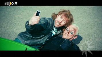 RTL Boulevard New Kids maken clip met Scooter