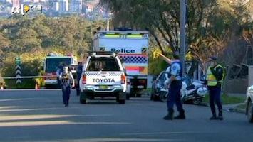 RTL Nieuws Straten Sydney afgezet om nekbom