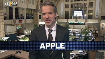 RTL Z Voorbeurs 'Late instappers Apple uitgeschud; blijft goed presterend bedrijf