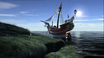 Piet Piraat Het zeil