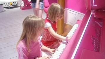 RTL Nieuws Alles roze in Barbiehuis Berlijn