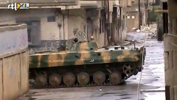 RTL Nieuws Troepen Assad treden keihard op