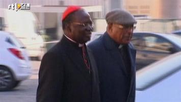 RTL Nieuws Rome kleurt rood van de kardinalen