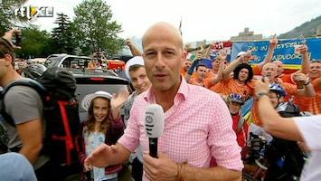 RTL Nieuws Oranjecarnaval op de Alpe d'Huez