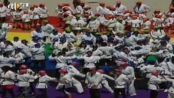 RTL Nieuws Wereldrecord grootste judoles