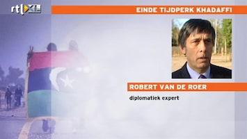 RTL Nieuws 'Khadaffi lijkt gelyncht'