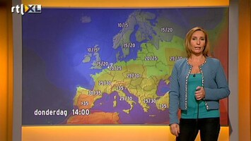 RTL Nieuws Warmte uit zuiden breidt uit