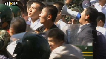 RTL Nieuws Fel Chinees protest tegen Japan