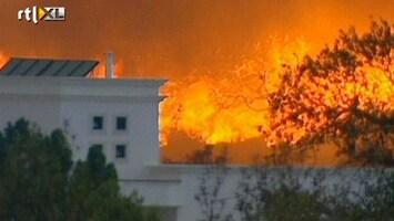 RTL Nieuws Regio Tavira keihard getroffen door bosbranden
