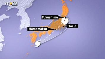 RTL Nieuws Tyfoon raast recht op Fukushima af