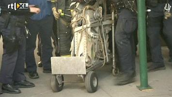 RTL Nieuws Brokstuk 9-11 toestel opgegraven