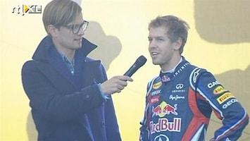 RTL Nieuws Sebastian Vettel gehuldigd in woonplaats