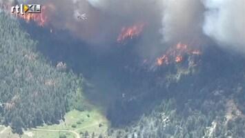 RTL Nieuws Grote bosbrand ten noorden van Denver, Colorado