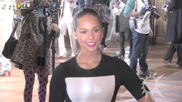 RTL Boulevard Beroemdheden bij de Paris Fashion Week