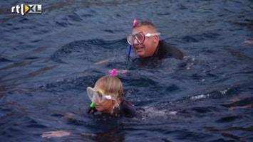 Samantha En Michael Willen Rust In De Tent! Ron als zeehond in het water