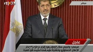 RTL Nieuws Morsi: 'bereid macht in te leveren'