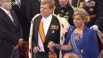 Editie NL Koning Willem-Alexander ingehuldigd