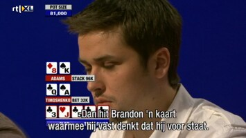 Rtl Poker: European Poker Tour - Uitzending van 10-11-2010