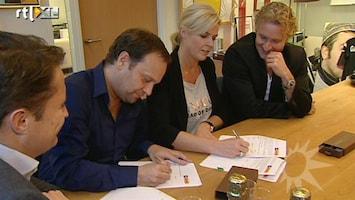 RTL Boulevard Carlo en Irene tekenen nieuw contract RTL