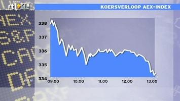 RTL Z Nieuws 13:00 Slechte dag voor de AEX