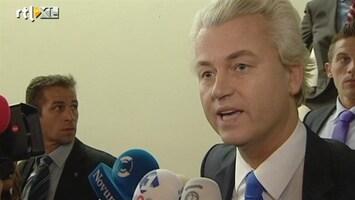 RTL Nieuws Geert Wilders: Ik laat me niet gek maken