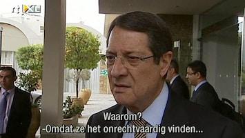 RTL Nieuws Ook voor nieuw plan Cyprus lijkt geen meerderheid te zijn